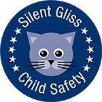 Child Safety Silent Gliss Logo. inser into cubicle rails & screen page